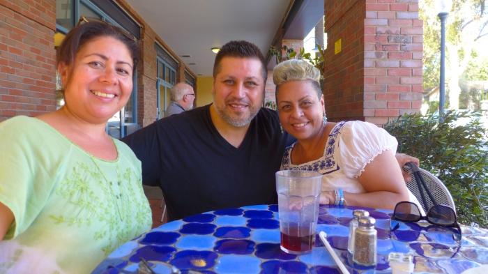 Cindy, Danny & Gloria.