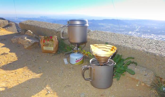 Brew setup.