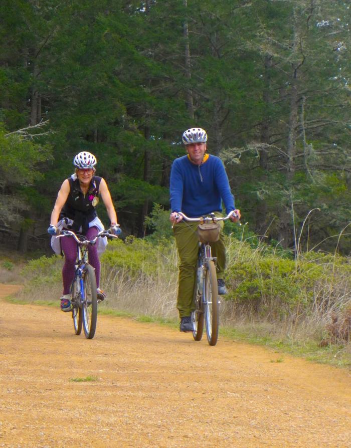 Jacquie & Jim Climbing Deer Park